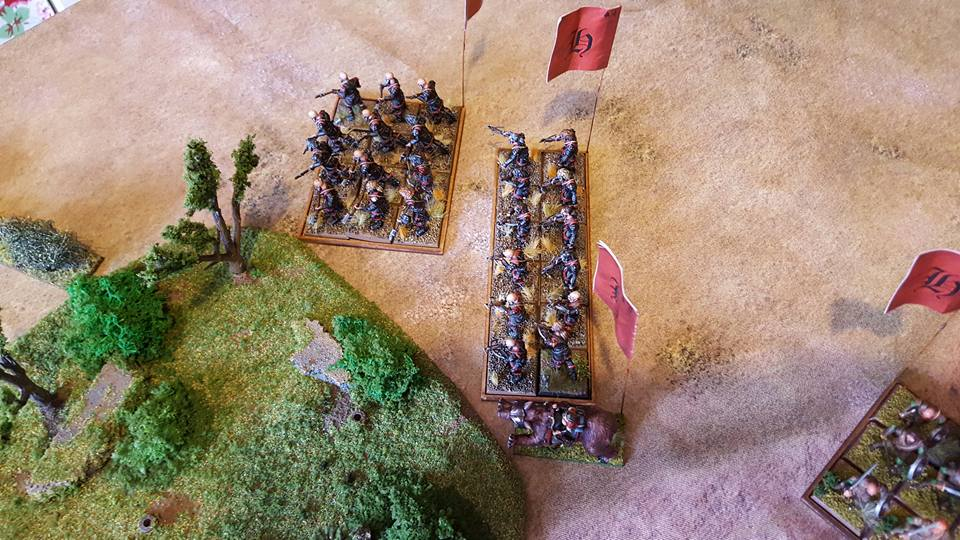 Hellesburne forces counter
